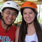 Zip-lining, HHS 350 - Costa Rica