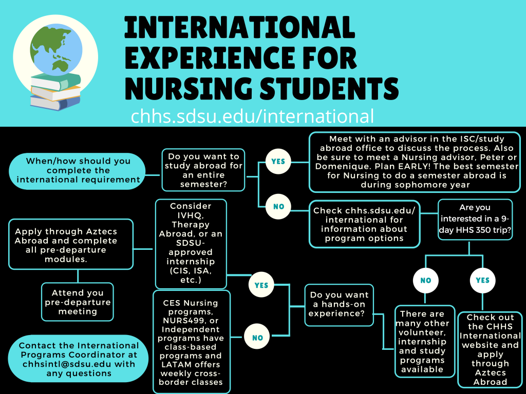 Nursing International Requirement