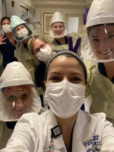 Eva Lorenzo and coworkers in PPE