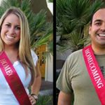 Two CHHS Students Make 2012 SDSU Homecoming Court!