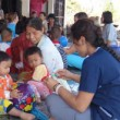 Students HEAL members provided home health assessments in Thailand.